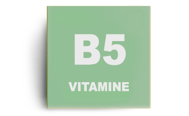 Vitamine B5 (acide pantothénique)