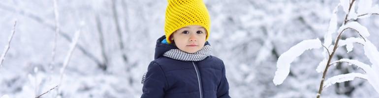 Enfant hiver