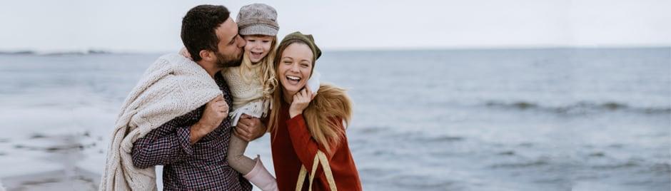 famille plage
